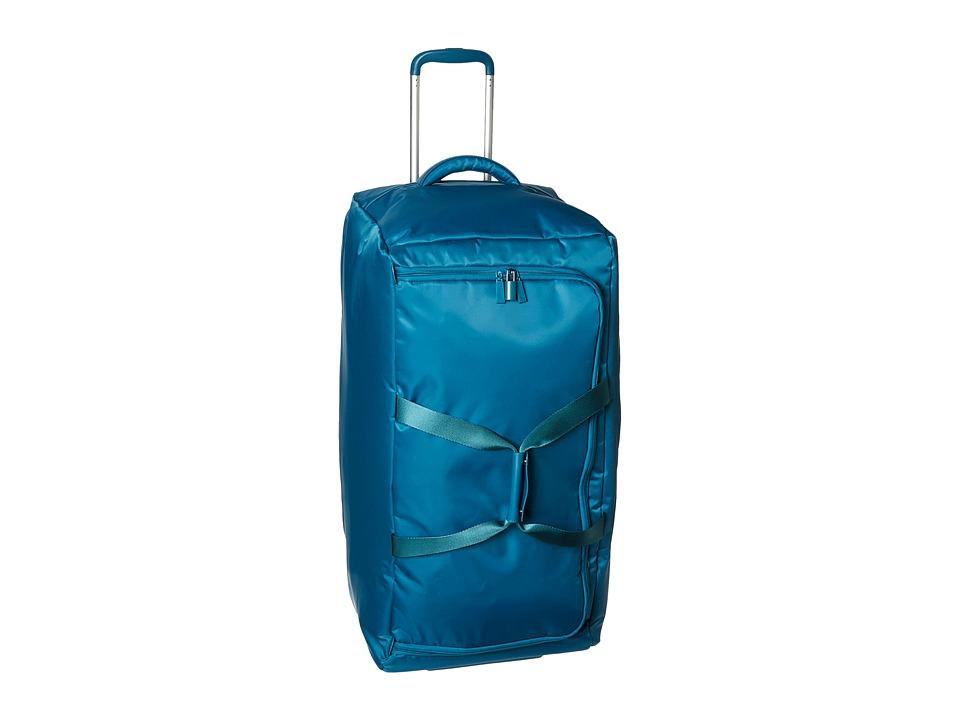 Lipault Paris Foldable 2 Wheeled 30 Duffel Aqua Duffel Bags