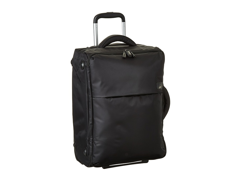 Lipault Paris - 0 percent Pliable 22 Upright (Black) Carry on Luggage