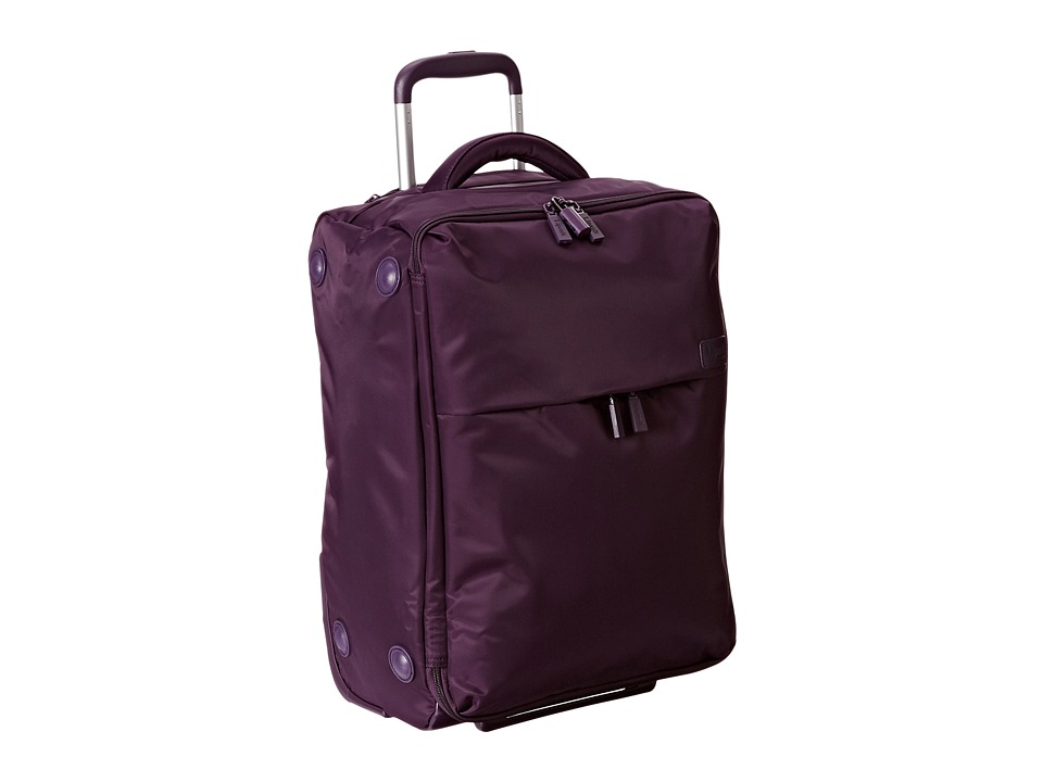 Lipault Paris - 0% Pliable 22 Upright (Purple) Carry on Luggage