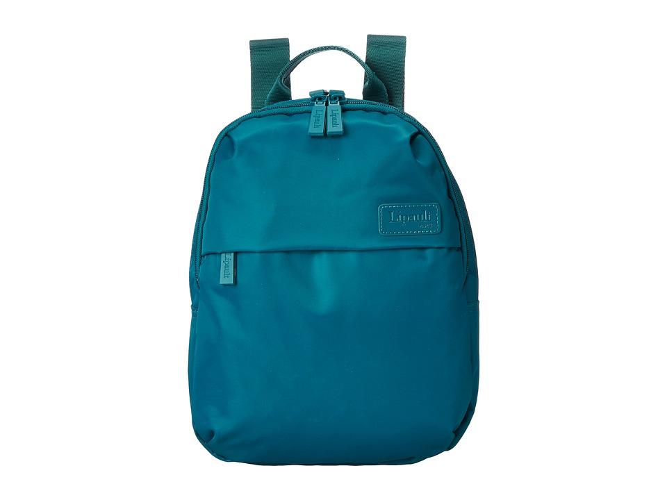 Lipault Paris Mini Backpack Aqua Backpack Bags