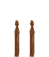 Oscar de la Renta - Long Tassel C Earrings
