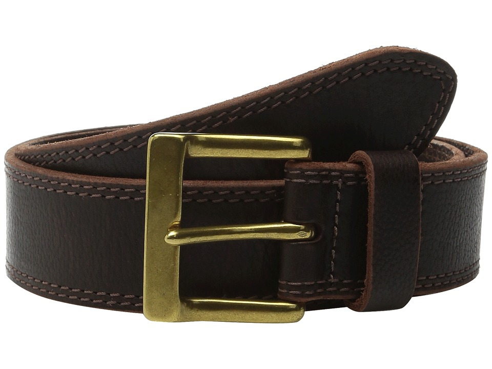 Allen Edmonds Quay Ave Brown Mens Belts