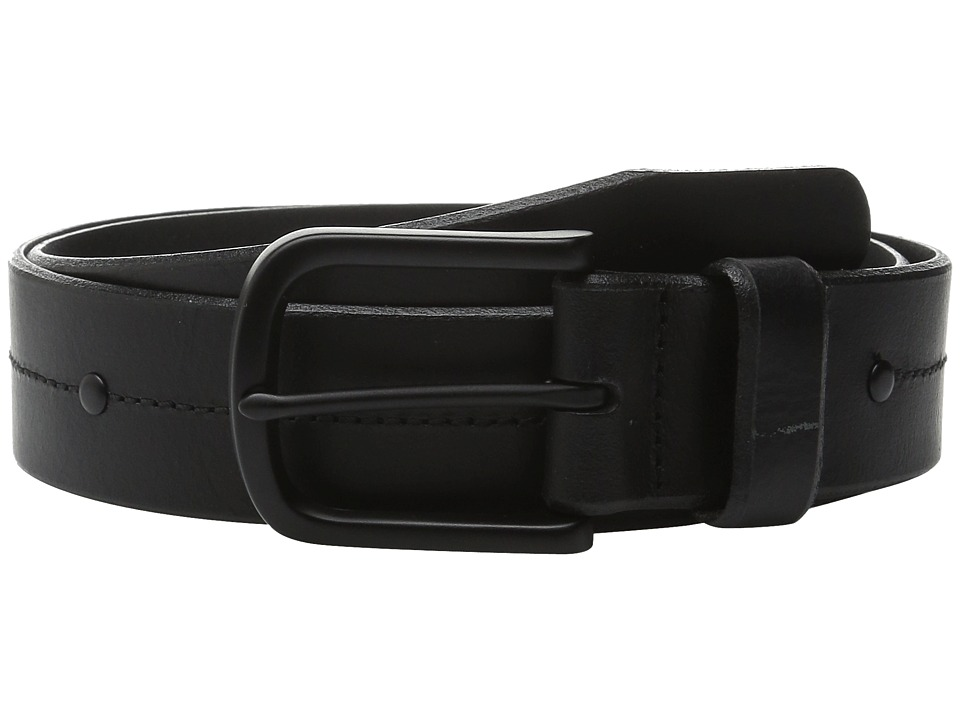 Allen Edmonds Pierce Ave Black Mens Belts