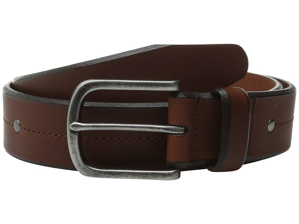 Allen Edmonds Pierce Ave Brown Mens Belts