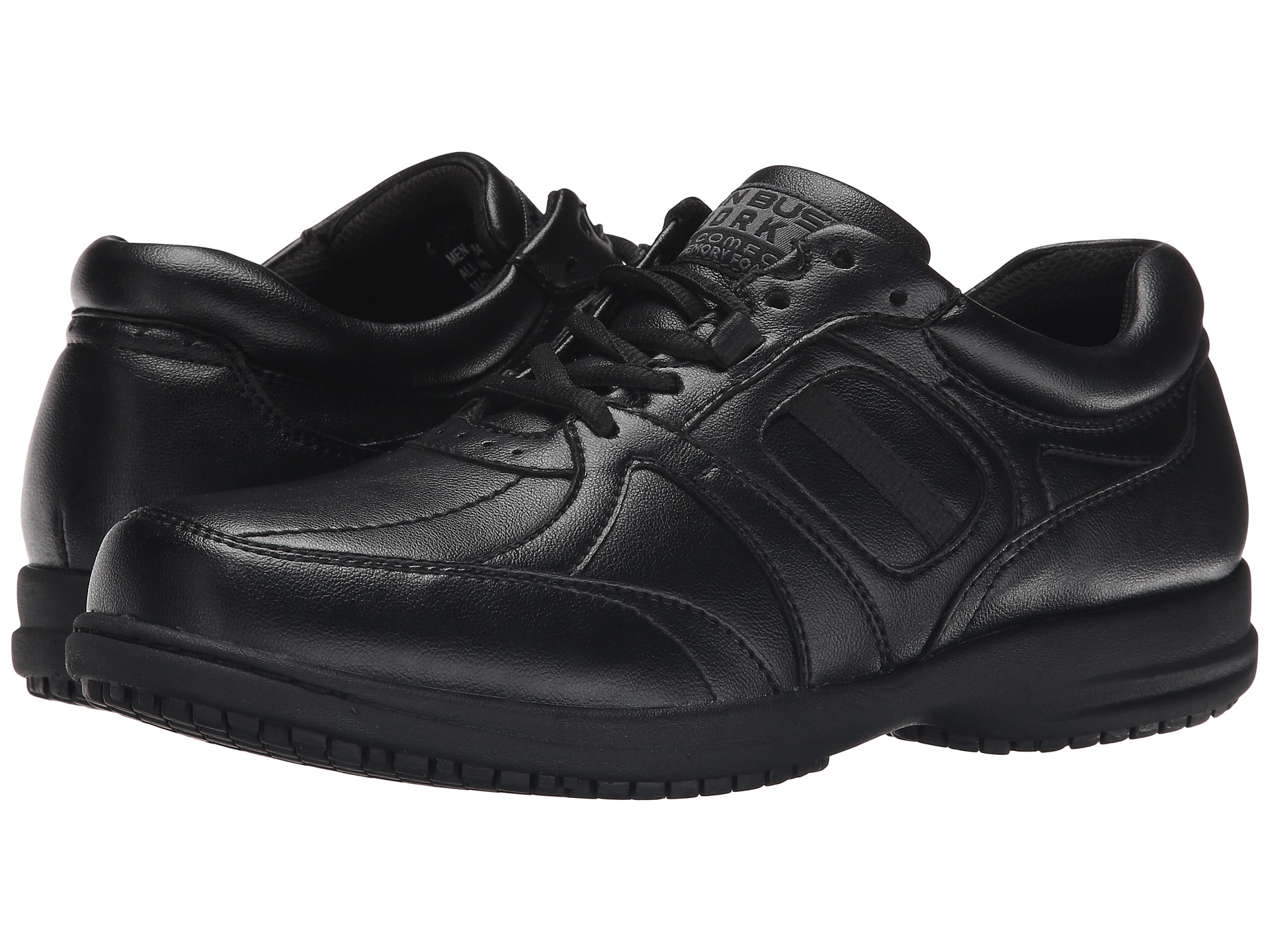 Item # UPC # Put your best looking foot forward in the Bartole oxford from Nunn Bush. With quality craftsmanship and comfort features, this leather lace-up shoe will become a .