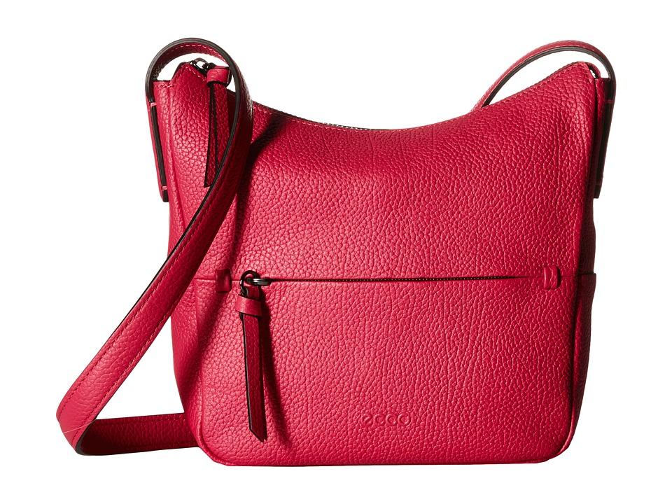 ECCO - SP Small Hobo Bag (Magenta) Hobo Handbags