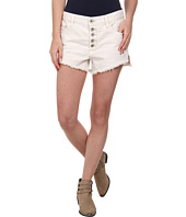Free People - Rugged Denim Runaway Cut Off Shorts