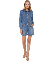 See by Chloe - Denim Long Sleeve Jumpsuit