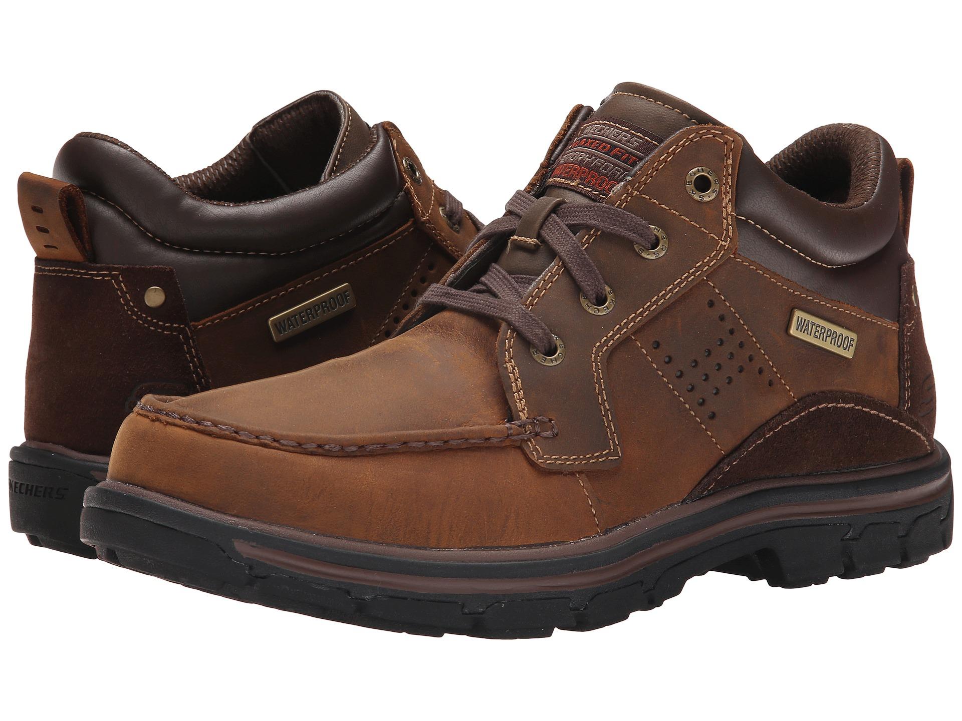 Sketchers Relaxed Fit Memory Foam Gel Infused Men S Shoes