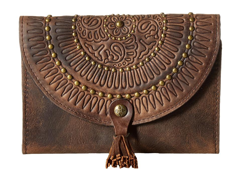 Patricia Nash - Colli Wallet (Chocolate) Wallet Handbags