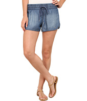 True Religion - Indigo Tencel Runner Shorts