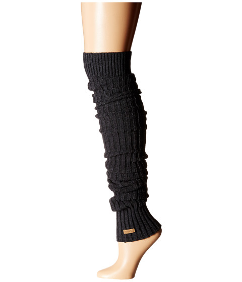 toesox Leg Warmer Thigh-High - Charcoal Grey