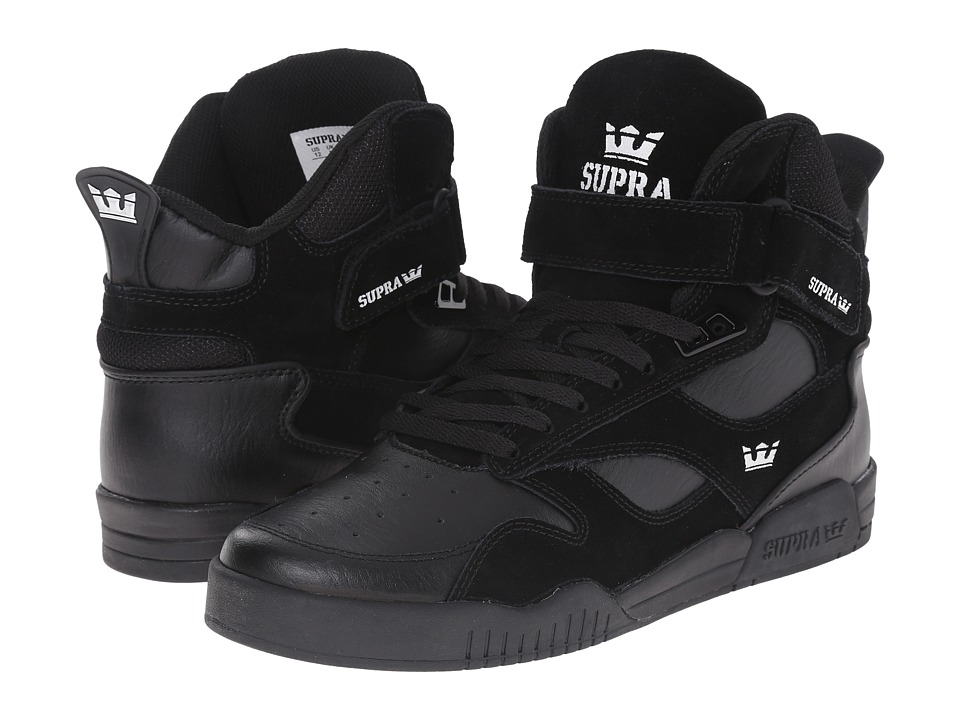 Supra Bleeker Black/Black/Black Mens Skate Shoes