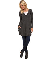 kensie - Drapey French Terry Hooded Jacket KS8K2143