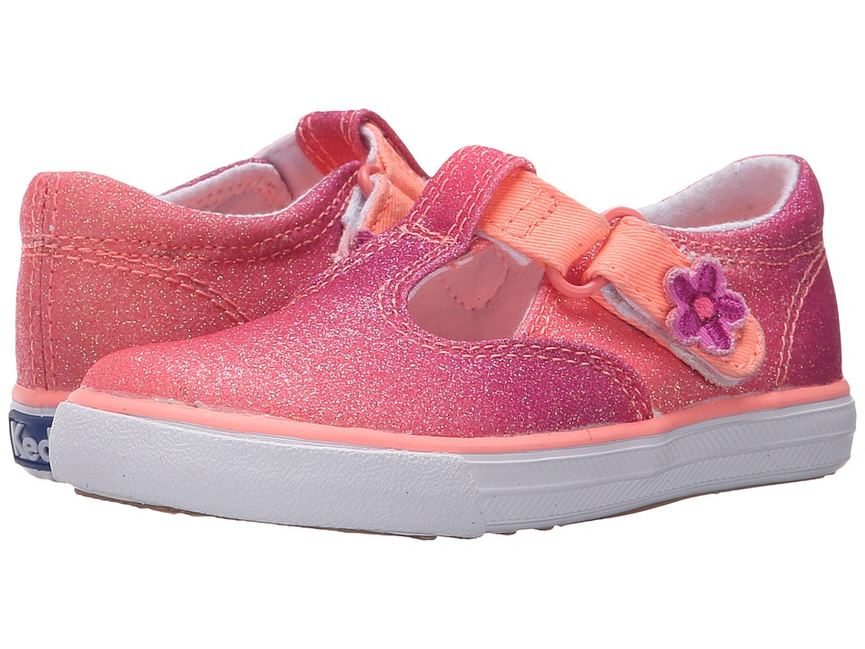 Keds Kids Daphne Infant/Toddler Coral Fade Sugar Dip Girls Shoes
