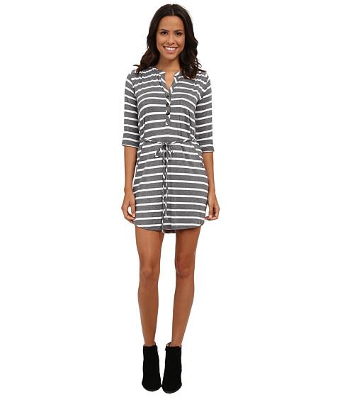 LAmade Stripe Henley Dress