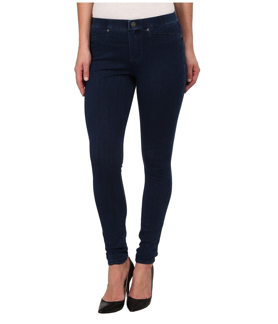 HUE Super Smooth Denim Leggings (Ink Wash) Women