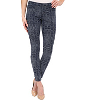 HUE - Arabesque Denim Jacquard Leggings