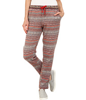 HUE - Fairisle Brushed Fleece Relaxed Leggings