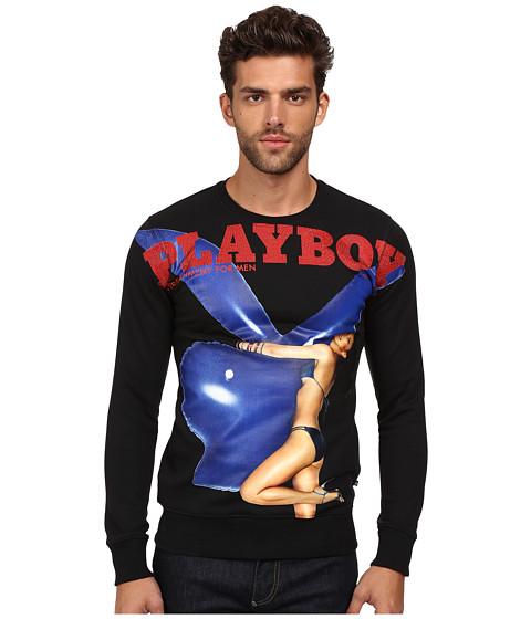 philipp plein playboy sweater black. Black Bedroom Furniture Sets. Home Design Ideas