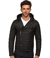Philipp Plein - Hooded Puff Jacket with Asymmetrical Zip