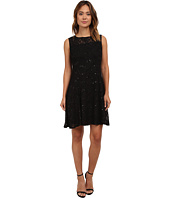 rsvp - Radiant Fit and Flare Sequin Lace Dress