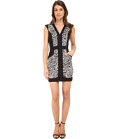 French Connection - Leopard Moth Cotton Dress 71EGP