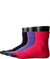 toesox - Ankle Half Toe 3-Pack