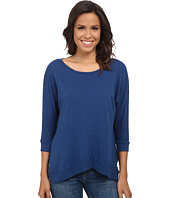 Velvet by Graham & Spencer - Lucina03 Cotton Slub 3/4 Sleeve Top