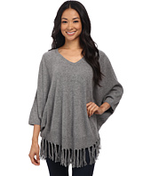 Velvet by Graham & Spencer - Trinity03 Fringe Cashmere Sweater