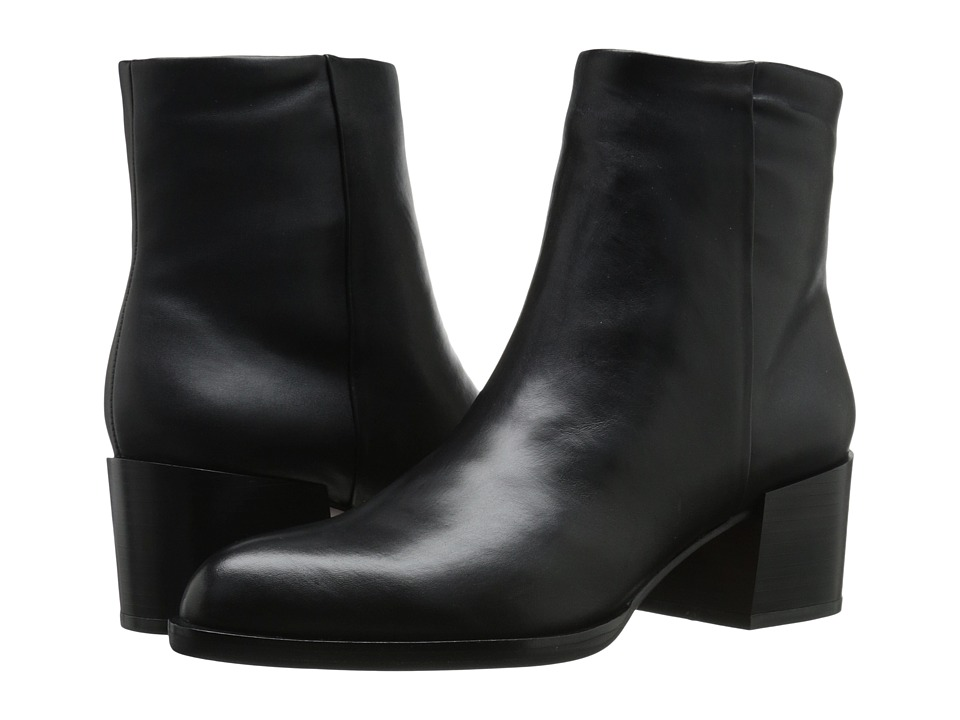 Sam Edelman - Joey (Black Leather) Women
