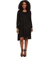 Karen Kane Plus - Plus Size Long Sleeve Hi Lo Dress