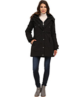 DKNY - Hooded Faux Fur Collar Parka w/ Inner Bib 46115-Y5