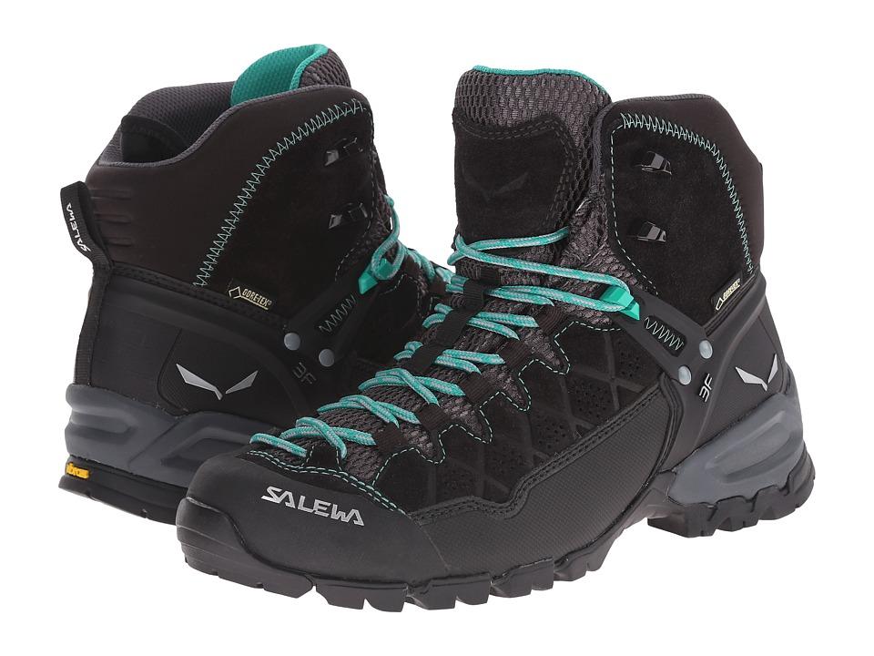 SALEWA Alp Trainer Mid GTX Black Out/Agata Womens Shoes