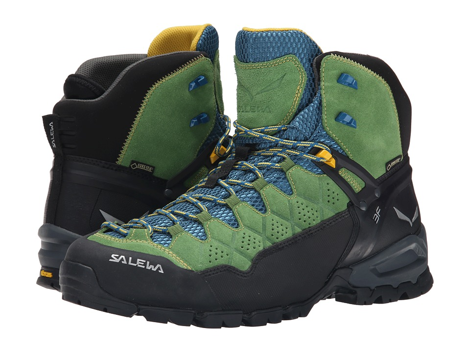 SALEWA Alp Trainer Mid GTX Treetop/Ringlo Mens Shoes