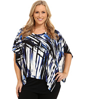Karen Kane Plus - Plus Size Two Piece Scarf Top