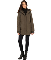 DKNY - Hooded Faux Fur Hi-Lo Fitted Parka 82503-Y5