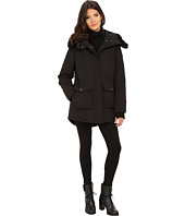 DKNY - Hooded Faux Fur Anorak w/ Patch Pockets 46989-Y5