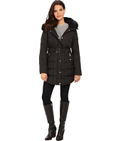 DKNY - Double Faux Fur Collar Belted Hooded Down 31359-Y5