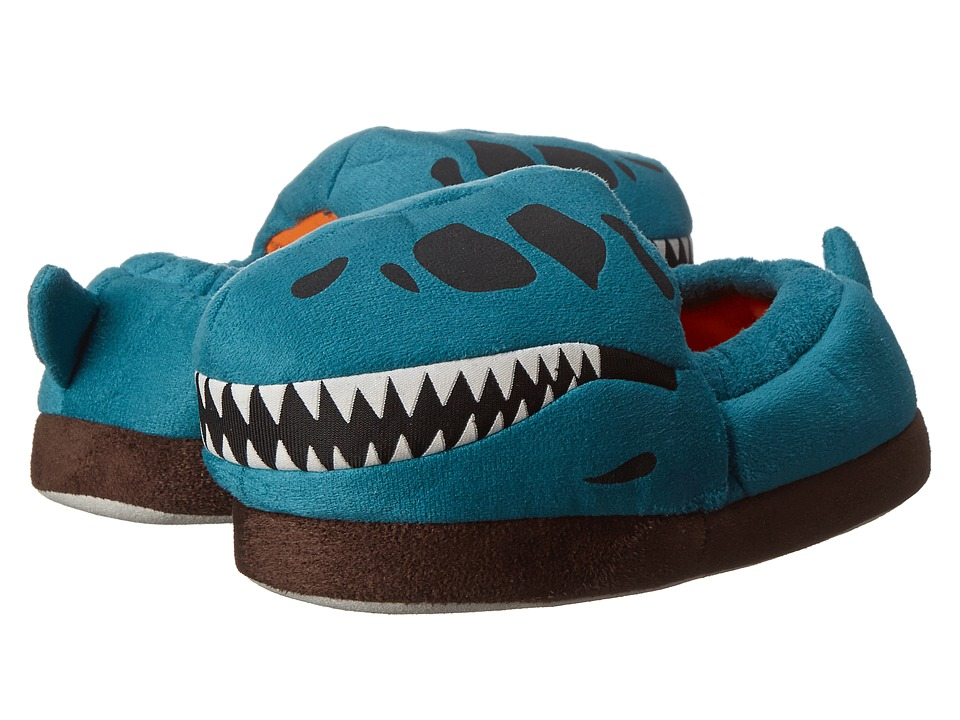 Stride Rite Glow T Rex Skull (Toddler/Little Kid) (Turquoise) Boys Shoes