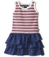 Toobydoo - French Stripe Ruffle Dress (Toddler/Little Kids/Big Kids)