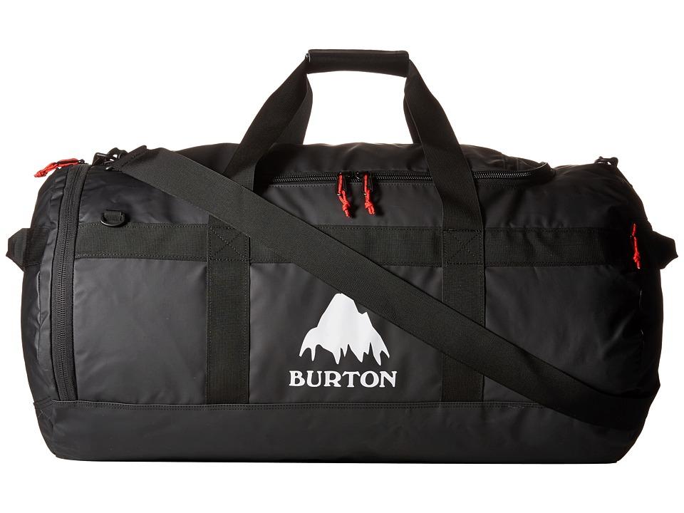 Burton Backhill Duffel 90L True Black Tarp Duffel Bags