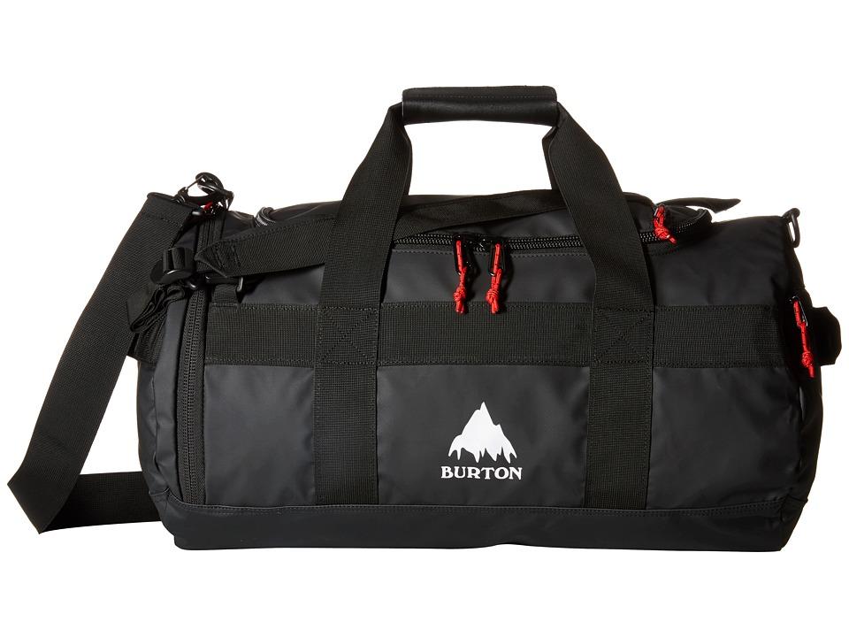 Burton - Backhill Duffel Bag Small 40L (True Black Tarp) Duffel Bags