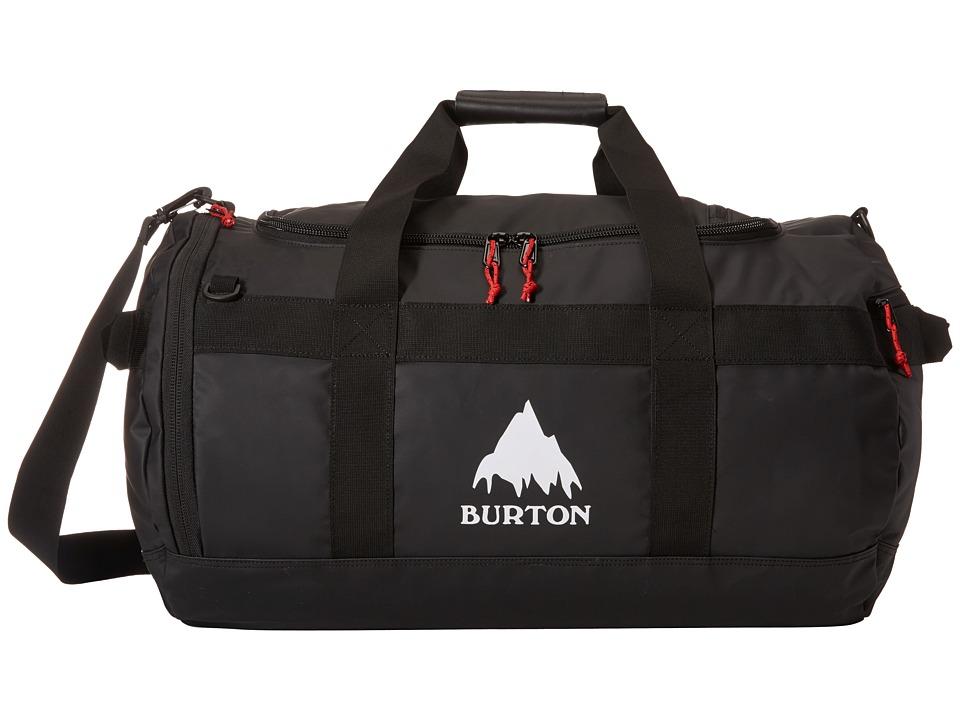 Burton - Backhill Duffel M 70L (True Black Tarp) Duffel Bags