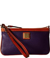 Dooney & Bourke - Pebble Leather New SLGS Large Slim Wristlet