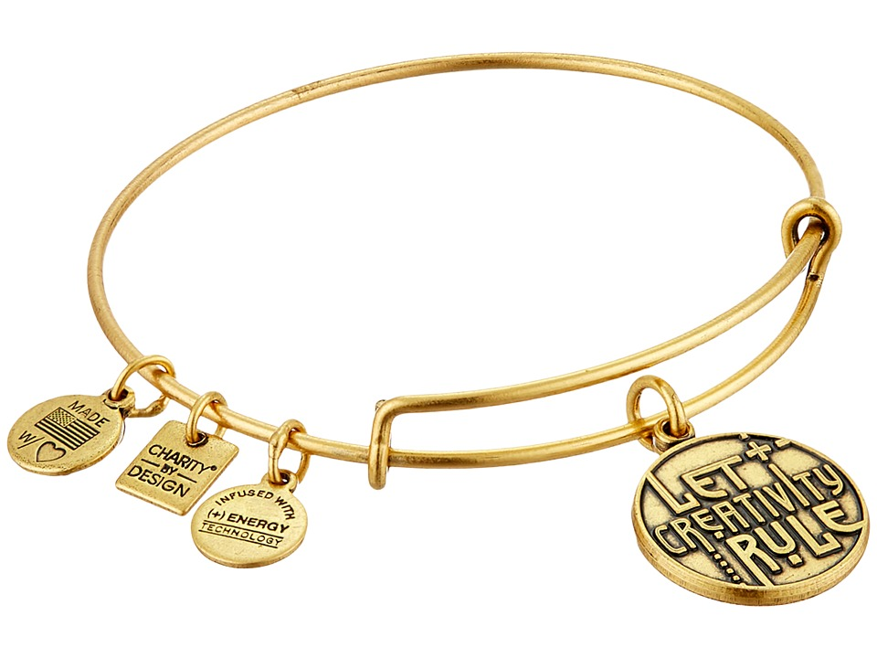 Alex and Ani - Charity by Design Let Creativity Rule Charm Bangle