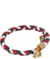 Alex and Ani - Team USA Braided Leather Wrap Bangle