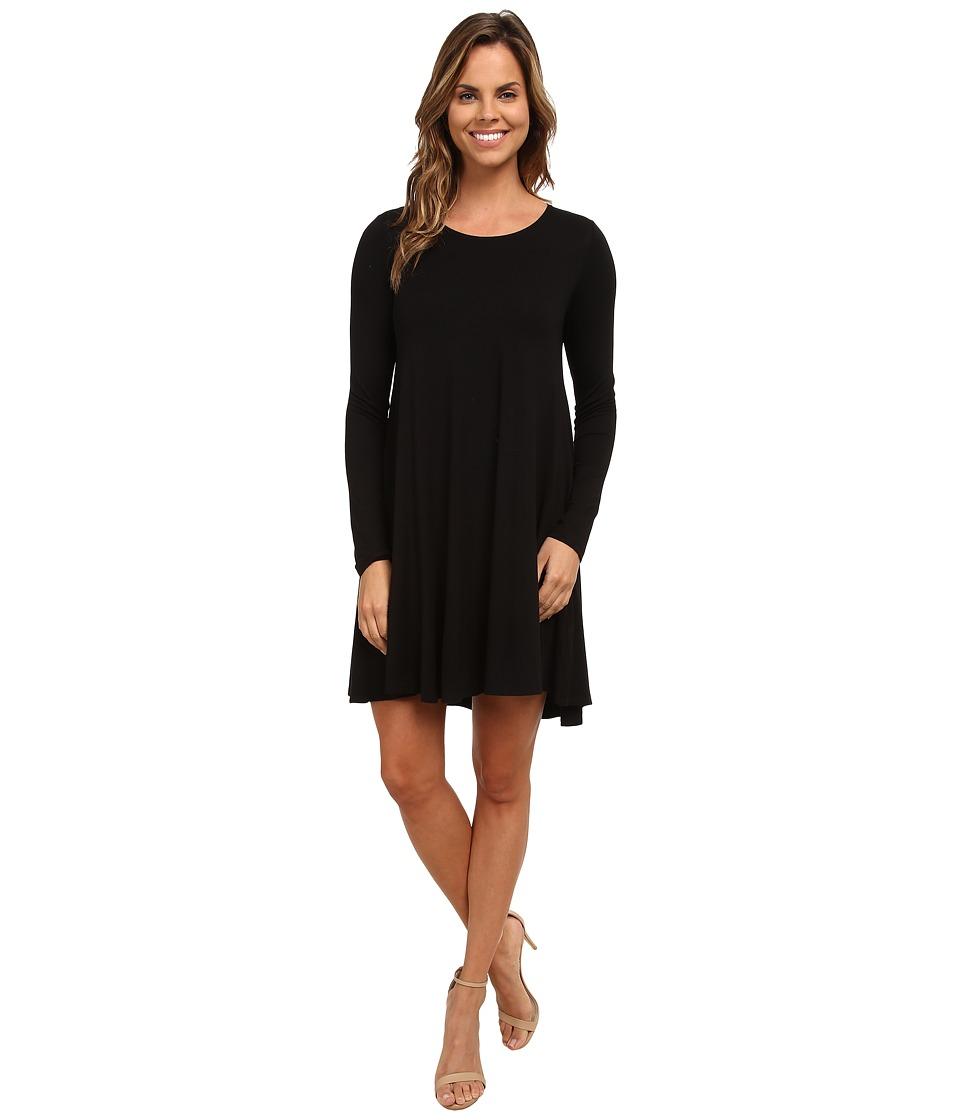 Karen Kane - Swing Dress (Black) Womens Dress