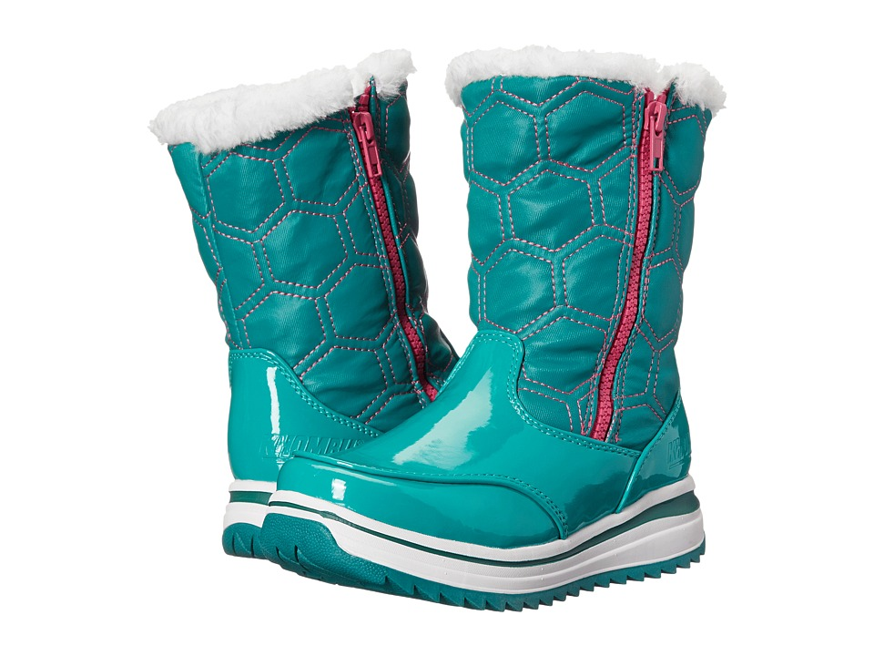 Khombu Kids Kelly KM Little Kid/Big Kid Teal Girls Shoes