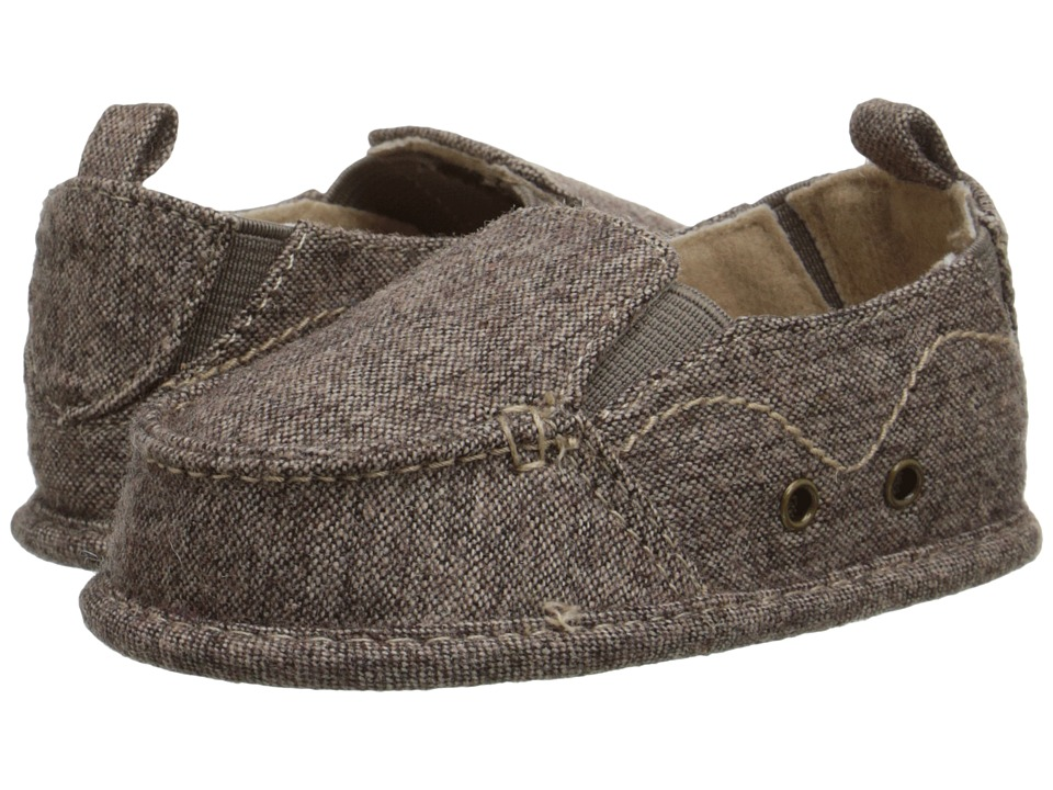 Baby Deer Slip On with Gore Infant Brown Boys Shoes
